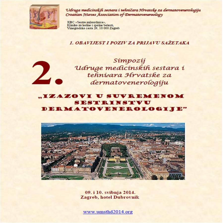 II simpozij UMSTHD 09. do 10. svibnja 2014.